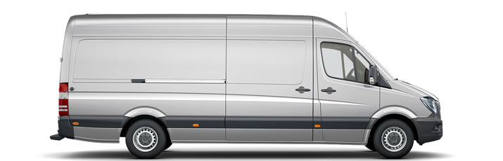 Transporter Mercedes-Benz Sprinter lang